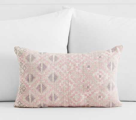 Ombre Geo Lumbar Decorative Pillows - Pottery Barn Kids
