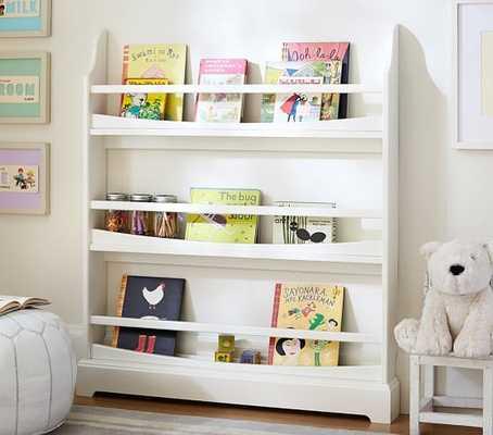 Madison 3-Shelf Bookrack - Simply White - Pottery Barn Kids