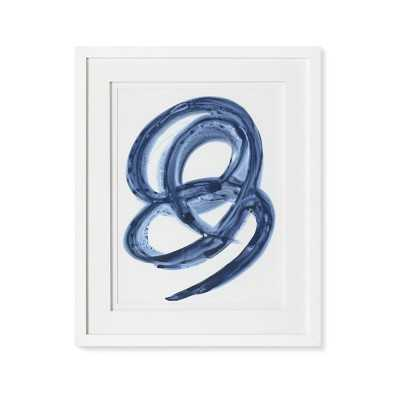 Blue Abstract Series, 6 - Williams Sonoma