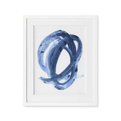 Blue Abstract Series, 3 - Williams Sonoma