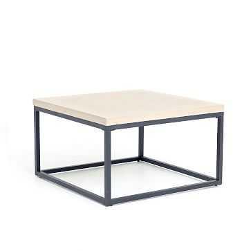 Slab Square Box Frame Coffee Table - West Elm