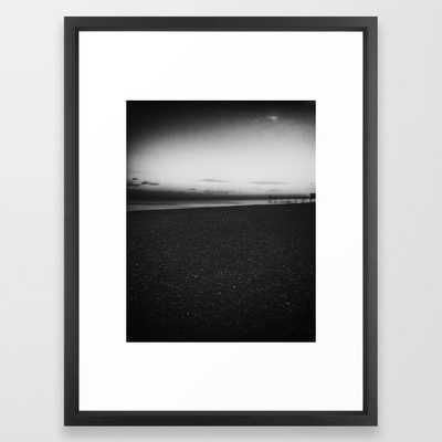 Sunset black and white photography - Society6