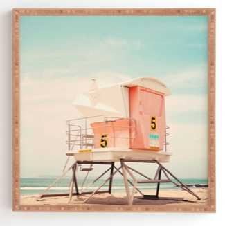 BEACH TOWER 5 Framed Wall Art By Bree Madden - Wander Print Co.