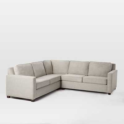 Henry 3 Piece L Shaped Sectional - West Elm
