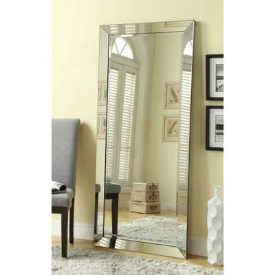 Large Standing Wall Mirror with Mirror Frame - Overstock