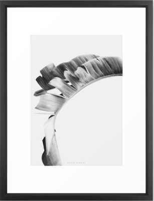 """Tropic framed art print, 20""""x26"""", vector black frame - Society6"""