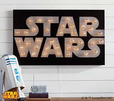Star Wars(TM) Marquee Wall Art - Pottery Barn Kids