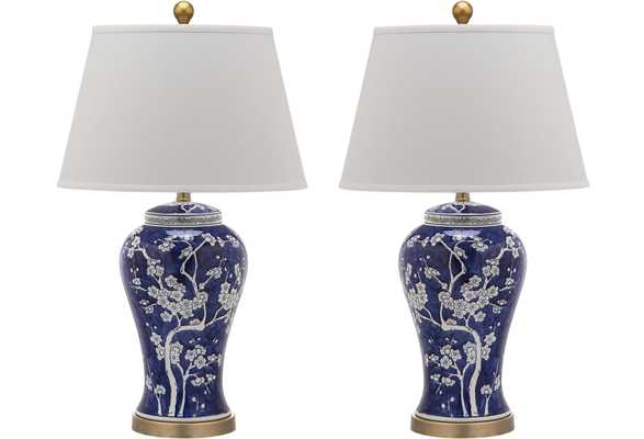 SPRING BLOSSOM TABLE LAMP - set of 2 - Arlo Home