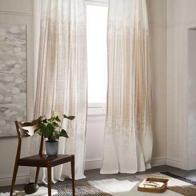 Echo Print Curtains (set of 2) - West Elm