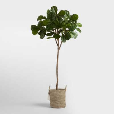 Faux Fiddle Leaf Fig Tree - World Market/Cost Plus
