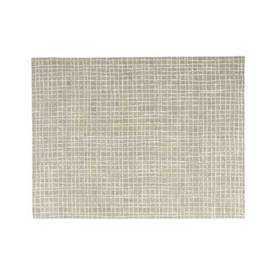 Palladio Grey Tufted Rug 9x12 - Crate and Barrel