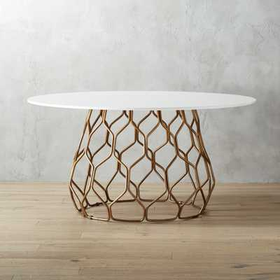 circuit dining table - CB2