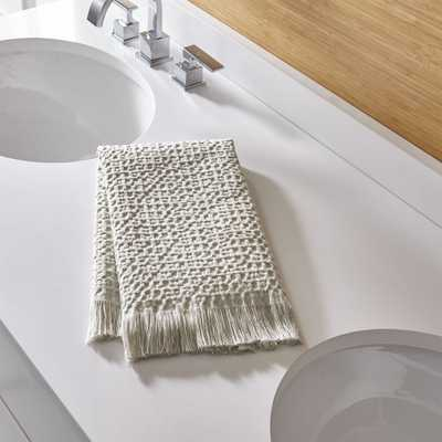 Sola Stone Guest Towel - Crate and Barrel