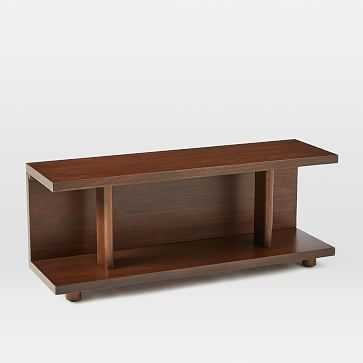 Enzo Bookcase, Dark Walnut - West Elm