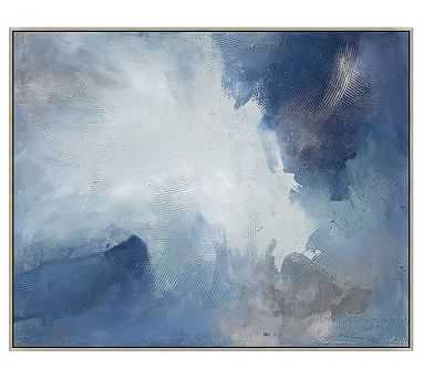 "Breathless Canvas, 51.25 x 41.25"" - Pottery Barn"