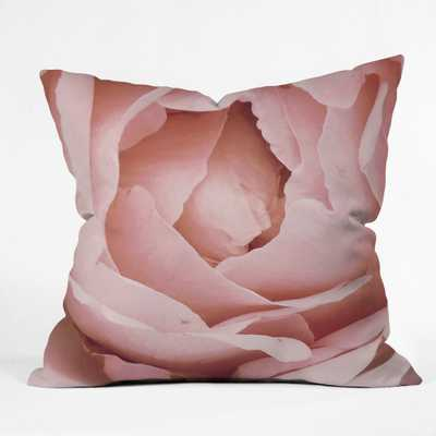 VERSAILLES ROSE Throw Pillow - Wander Print Co.