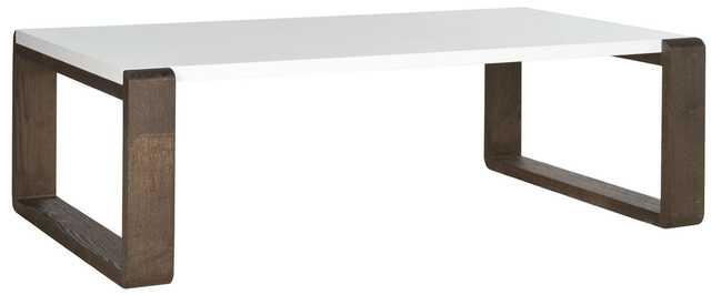 BARTHOLOMEW MID CENTURY SCANDINAVIAN LACQUER COFFEE TABLE - Arlo Home
