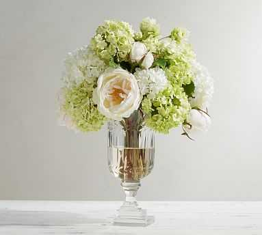 Faux Composed Hydrangea Arrangement - Pottery Barn