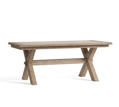 "Toscana Extending Dining Table- Seadrift- 60"" - 84"" L - Pottery Barn"