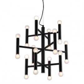Alton Ceiling Lamp Black - Zuri Studios