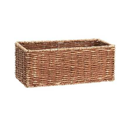 Samantha Rectangle Shelf Basket - Pottery Barn