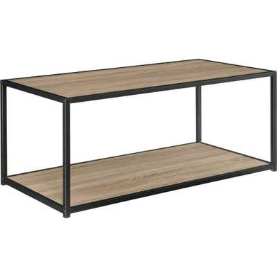 Ameriwood Home Sun Valley Sonoma Gray Oak Coffee Table - Home Depot