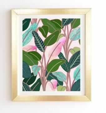 COLOR PARADISE framed art print - Wander Print Co.