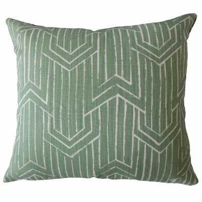 Daube Geometric Pillow Succulent - Linen & Seam