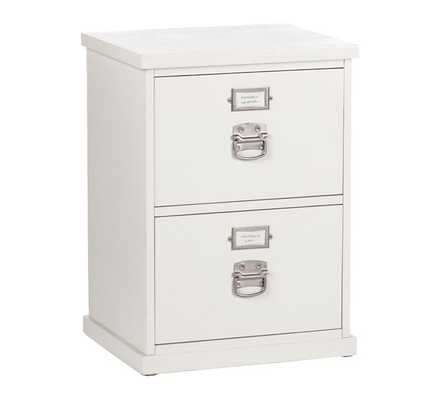 2 Drawer Filing Cabinet - Pottery Barn