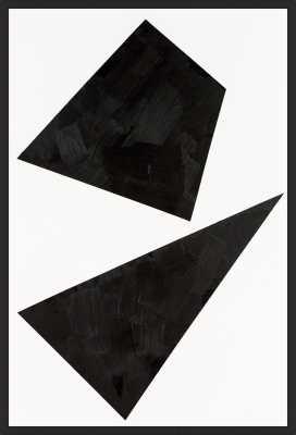 Out of Shape - Black frame - No mat - Artfully Walls
