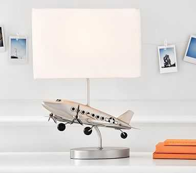 Airplane Complete Lamp - Pottery Barn Kids