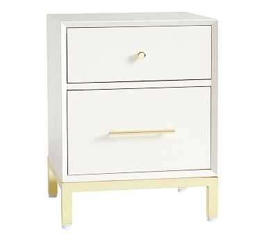 Flynn Nightstand, Simply White - Pottery Barn Kids