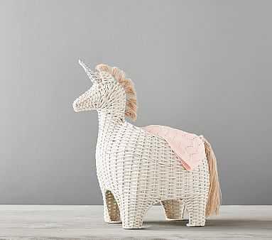 Unicorn Shaped Storage - Pottery Barn Kids
