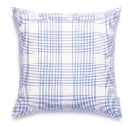 PETITE PLAID PILLOW IN EVENTIDE - 20x20 - insert sold separately - Caitlin Wilson