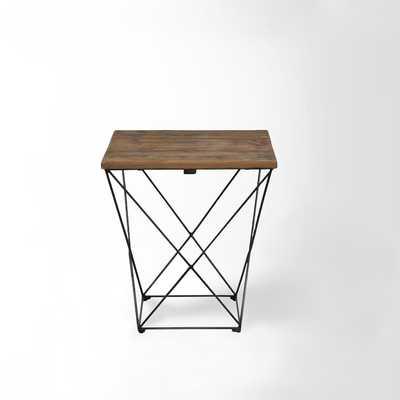 Angled Base Side Table - West Elm