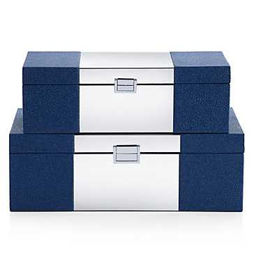 Celeste Boxes - Set of 2 - Z Gallerie