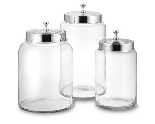 Glass Canisters - Set of 3 - Williams Sonoma