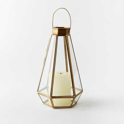 Faceted Lanterns - West Elm