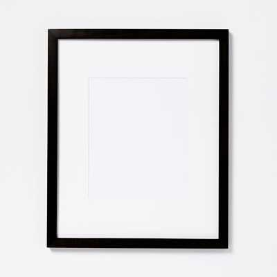 """Gallery Frames - Black, 8x10, 13""""x 16"""" without mat - West Elm"""