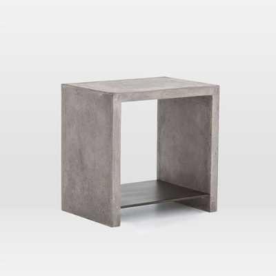 Industrial Concrete Side Table - West Elm
