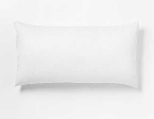 "Decorative Pillow Insert – 12""x21"" - poly fill - West Elm"