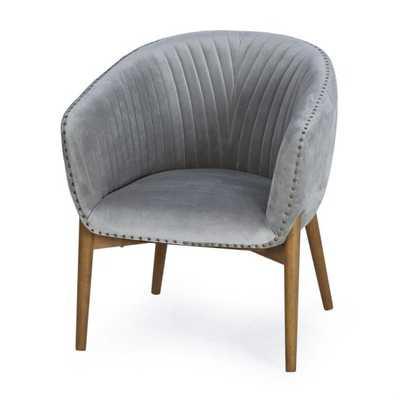 Belham Living Kendall Tub Chair - Gray - Hayneedle
