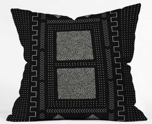 Mud Cloth Inspo I Throw Pillow - 18x18 - Wander Print Co.