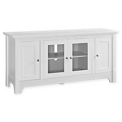 Walker Edison® Wood TV Media Console - Bed Bath & Beyond