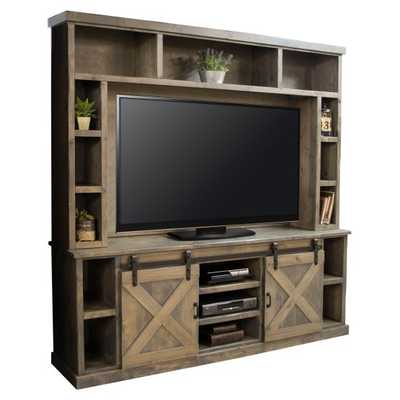 Legends Furniture Farmhouse TV Console with Optional Hutch - Hayneedle
