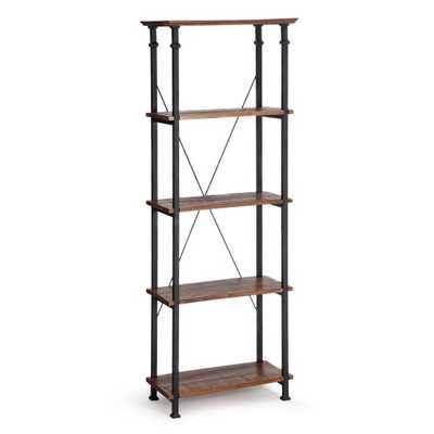 Weston Home Factory Bookcase - Hayneedle