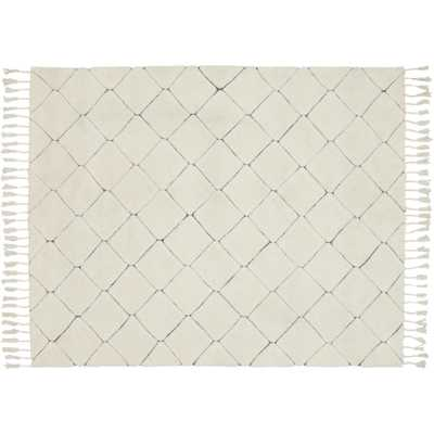 Couture Ivory Tufted Rug 8'x10' - CB2