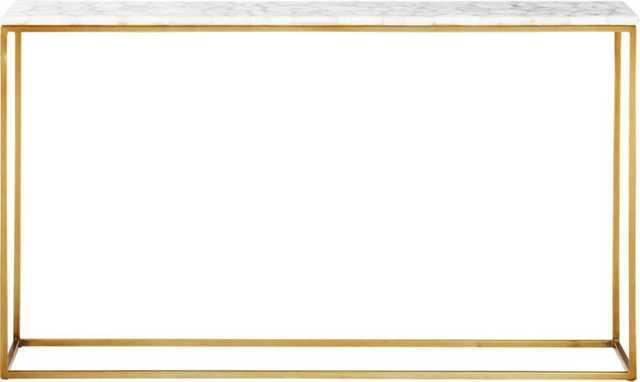 Iris White Agate Console Table - CB2
