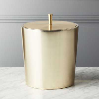 Neil Champagne Gold Ice Bucket - CB2