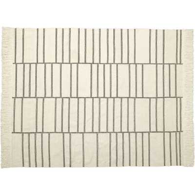 Eaton Ivory Geometric Rug 8'x10' - CB2